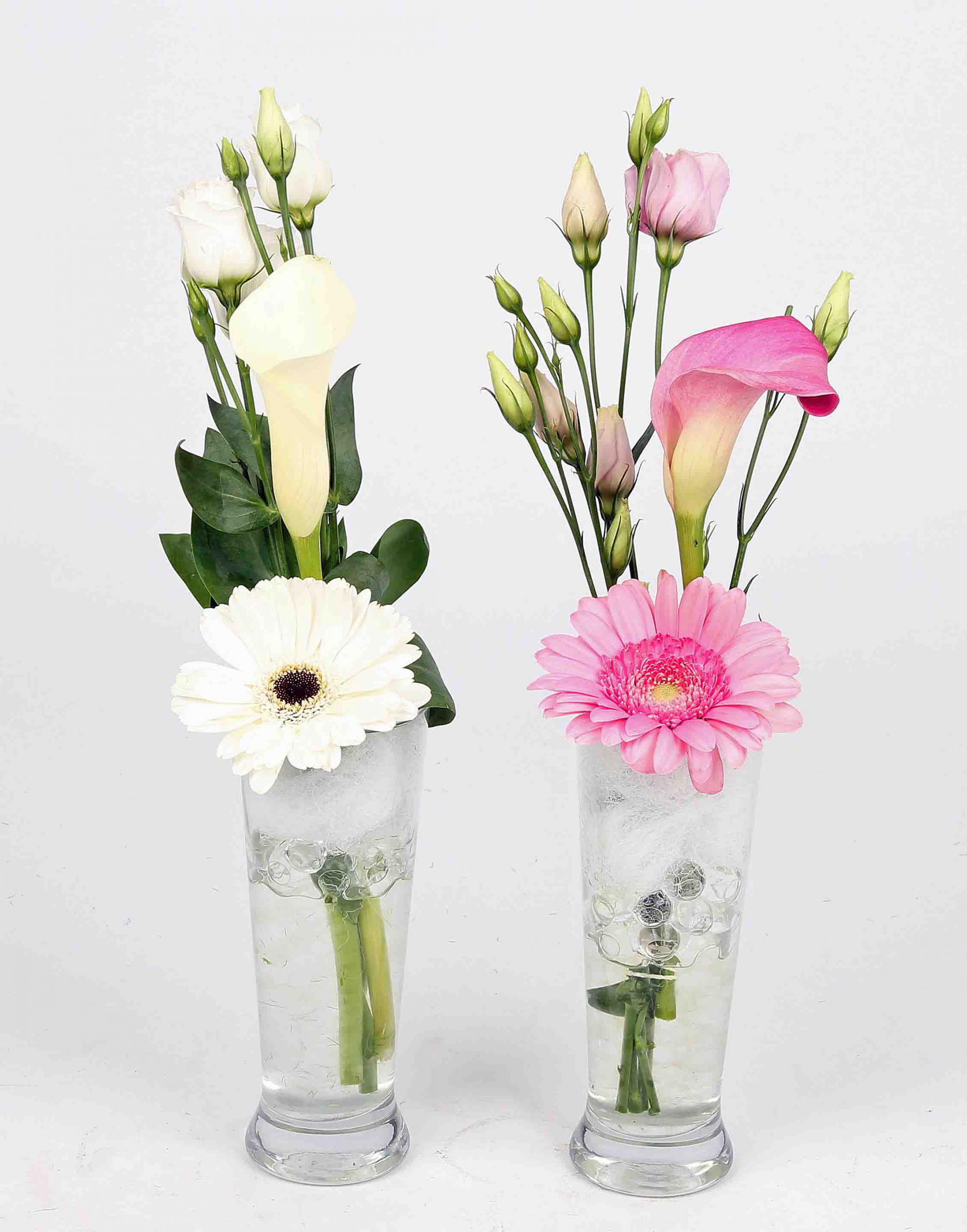 Longdrink glas met snijbloemen